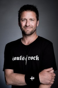 DANIEL FREY, OWNER OF THE LABEL SOULS OF ROCK UND PRESIDENT OF THE SOULS OF ROCK FOUNDATION